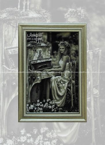 پیانو زن 0.97*0.66 تبریز
