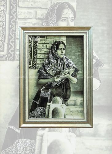 دختر قاجار 0.92*0.6 تبریز