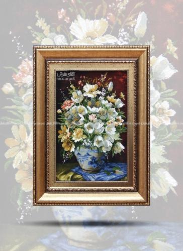 لاله گلدان آبی