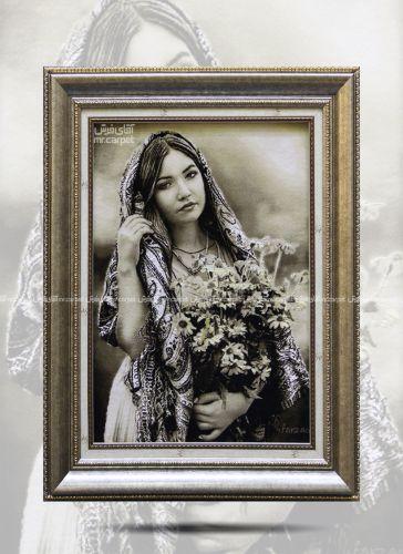 دختر گل فروش 0.65*0.50 تبریز