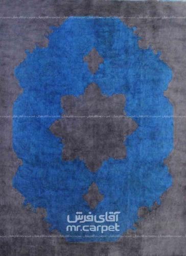 رنگ آبی وینتیج 2.34x3.10 تهران