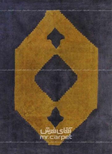 رنگ زرد وینتیج 1.74x2.55 تهران