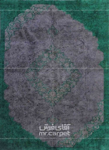 رنگ سبز وینتیج 2.00*3.12 تهران