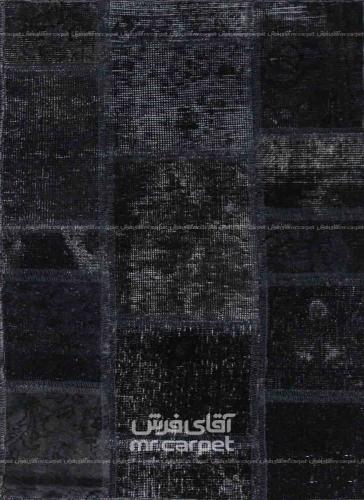 تکه دوزی   رنگ الوان پشم 0.58x0.91