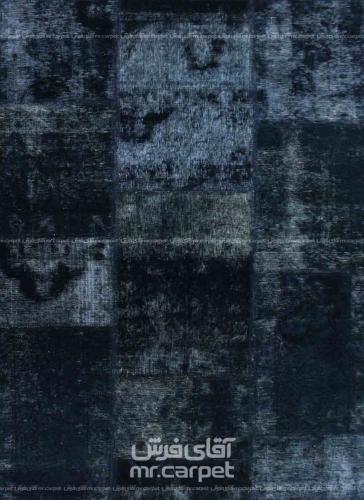 تکه دوزی   رنگ الوان پشم 1.8x1.2