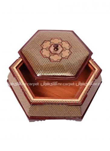 شیراز شکلات خوری 6 گوش