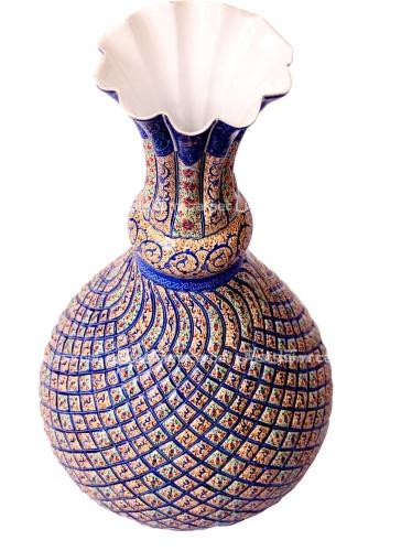 گلدان شلغمی گلدان اصفهان