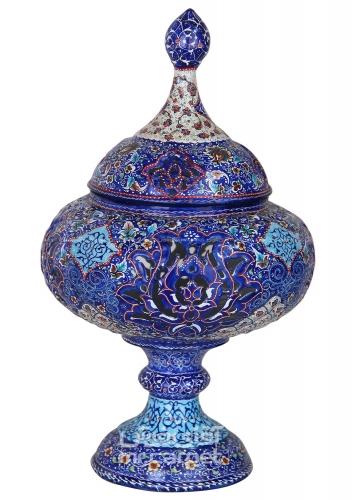 گزخوری 35 سانت مشبک نقاشی-مینا- استوانه اصفهان