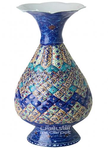 گلدان اسلیمی 25 س گلدان اصفهان