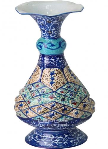 گلدان اسلیمی 16 س گلدان اصفهان