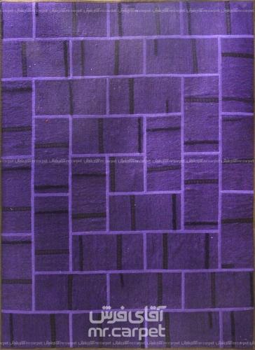 تکه دوزی   رنگ الوان پشم 1.77x1.38