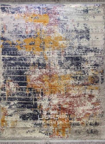 طرح 6432 رنگ الوان 400 شانه پلی استر - BCF برسام