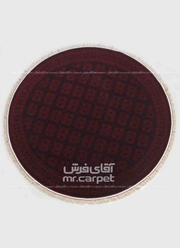 طرح BL022 دایره رنگ لاکی 700 شانه پلی استر فیلامنت فرهی