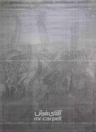 طرح SN001 رنگ طوسی 160 شانه پلی استر فیلامنت پلاتین
