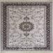 طرح افسانه رنگ نقره ای 700 شانه اکرلیک فرش سپهر