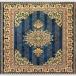 طرح طلا رنگ آبی درباری 700 شانه پلی استر فیلامنت