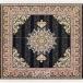 طرح طلا مربع رنگ مشکی 700 شانه پلی استر فیلامنت