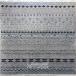 طرح SA016 عرضی نمونه 1 رنگ طوسی 320 شانه پلی استر فیلامنت فرهی