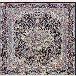 طرح گل افروز رنگ سرمه ای 1200 شانه پلی استر فیلامنت