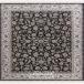 طرح افشان سلطنتی رنگ سرمه ای 1200 شانه پلی استر فیلامنت فرهی