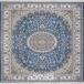 طرح HBB02 رنگ آبی (خاکی آبی) 1200 شانه پلی استر-اکرلیک