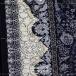 طرح زیبا رنگ سرمه ای 1200 شانه اکرلیک