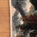 طرح کلبه رنگ سرمه ای 1000 شانه پلی استر فیلامنت