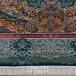 طرح ایلیا رنگ آبی اطلسی 1000 شانه پلی استر فیلامنت