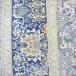 طرح سحر رنگ آبی روشن 1200 شانه پلی استر فیلامنت
