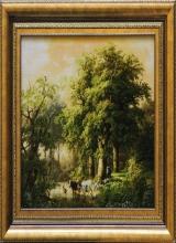 منظره جنگل