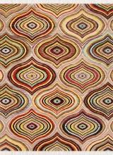طرح AL3390 عرضی رنگ الوان 400 شانه پلی استر فیلامنت
