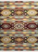 طرح AL33107 عرضی رنگ الوان 400 شانه پلی استر فیلامنت